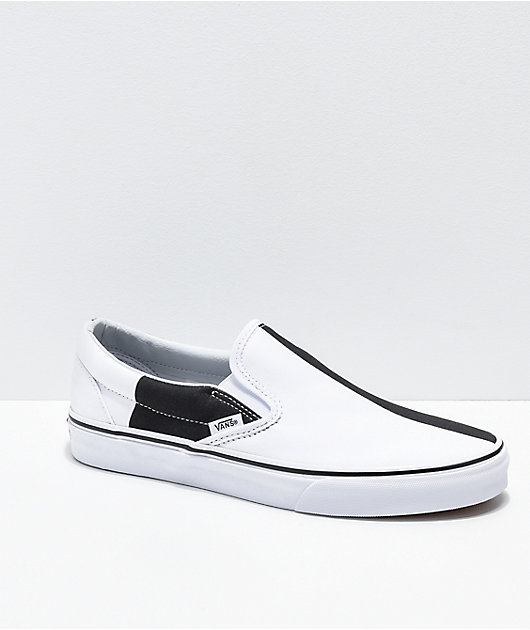 Vans Slip-On Mega Checker Black \u0026 White