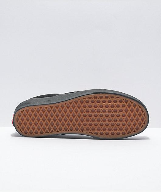 Vans Slip-On Monochromatic Black Skate Shoes