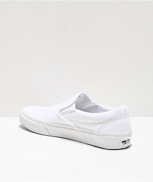 Vans Slip-On Monochromatic True White