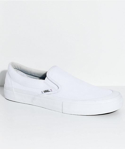 Vans Slip-On Pro Allen Mono White Skate
