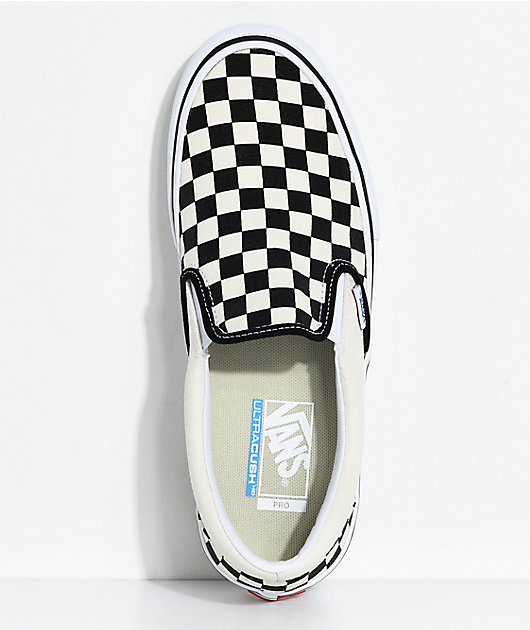 Vans Slip-On Pro Black \u0026 White