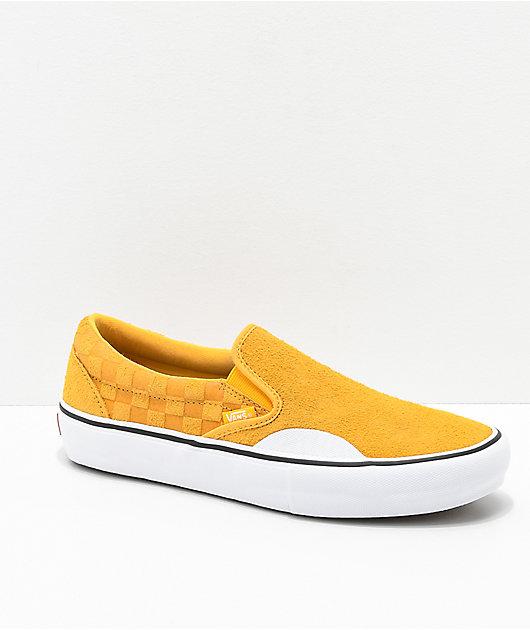 Vans Slip-On Pro Hairy Banana Yellow