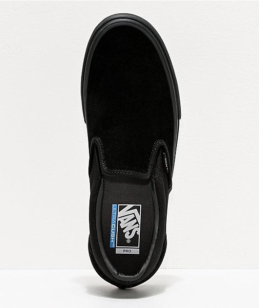 Vans Slip-On Pro zapatos de skate negros