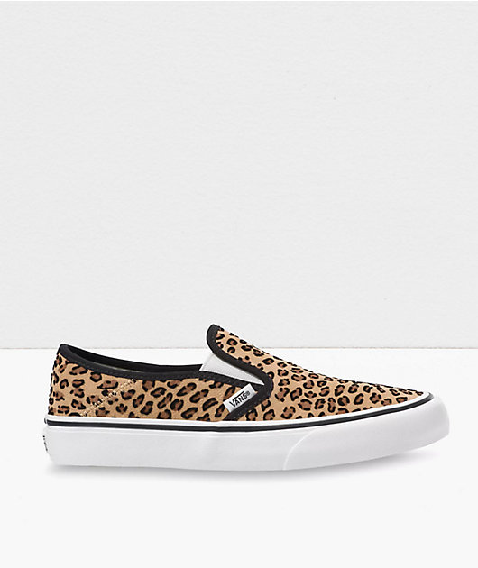 Vans Slip-On SF Leopard Skate Shoes