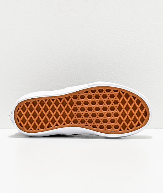 Vans Slip-On Suede Flame Black Skate Shoes