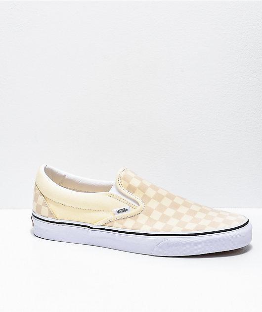 Vans Slip-On White \u0026 True White