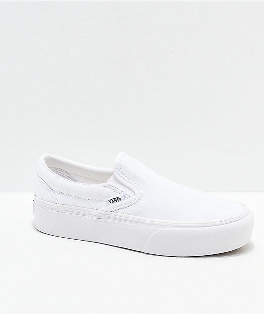 vans blancas