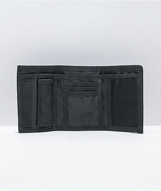 Vans Slipped Grey & Black Checkerboard Trifold Wallet