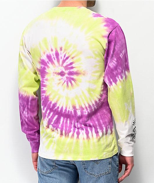 Vans Slow Fashion Tie Dye Long Sleeve T-Shirt