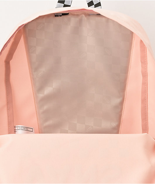 Vans Sporty Realm Cloud Pink Checkerboard Backpack