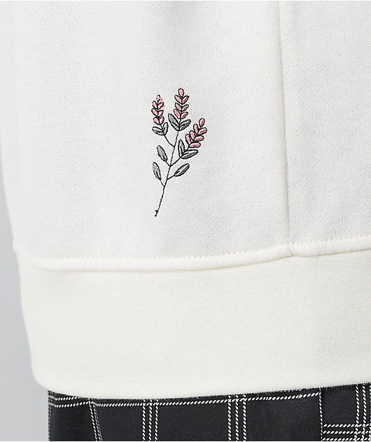 Vans Sprouted White Hoodie