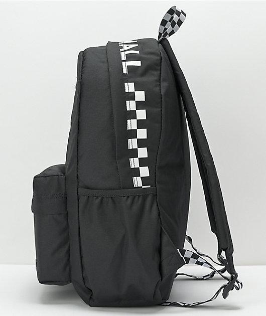 Vans Street Sport Realm Black Backpack