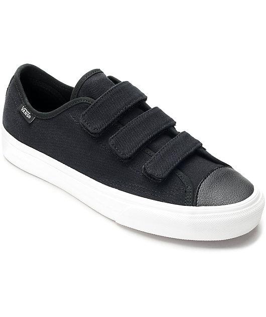 Vans Style 23V Black \u0026 White Twill