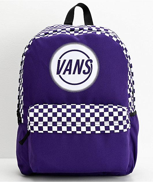 Vans Taper Off Realm Violet Indigo Backpack