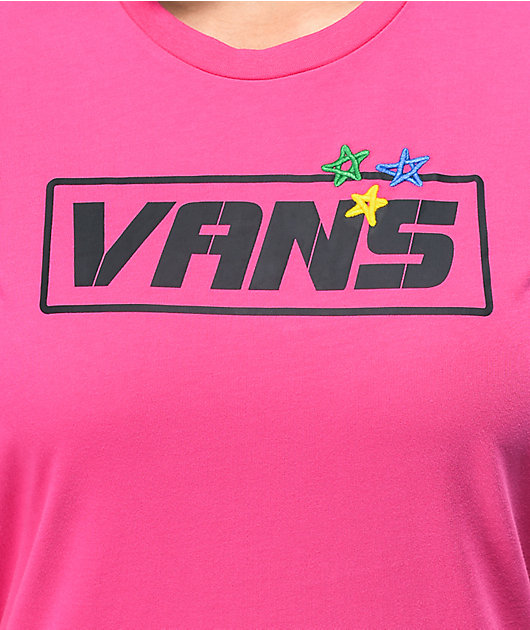 Vans Thread It Boyfriend camiseta fucsia