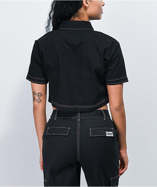 Vans Thread It camisa negra de manga corta