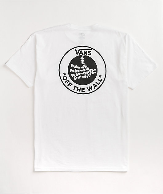 Vans Thumbs Up White T-Shirt