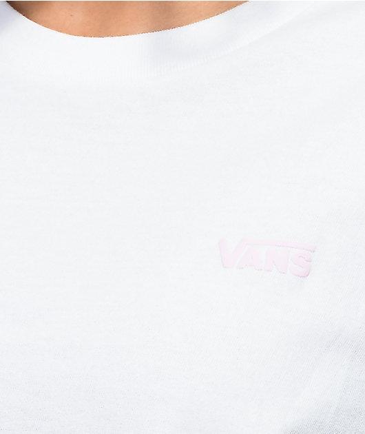 Vans Tie Dye Graphic White T-Shirt