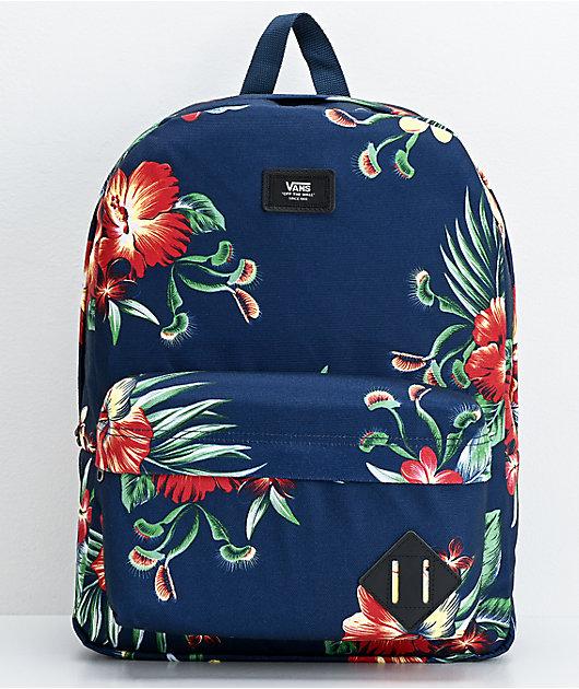 Vans Trap mochila floral