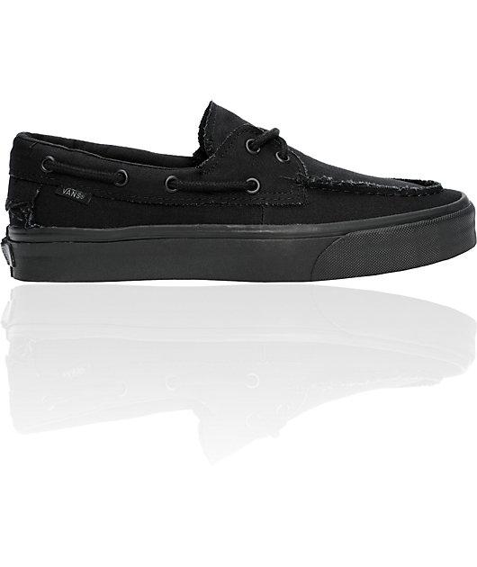 Vans True All Black Zapato Del Barco