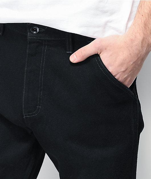 Vans V96 Rowan Relaxed Black Denim Jeans