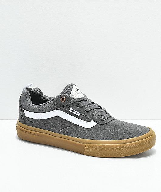 Vans Walker Pro Pewter \u0026 Gum Skate