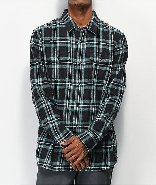 Vans Westminster Black Flannel Shirt