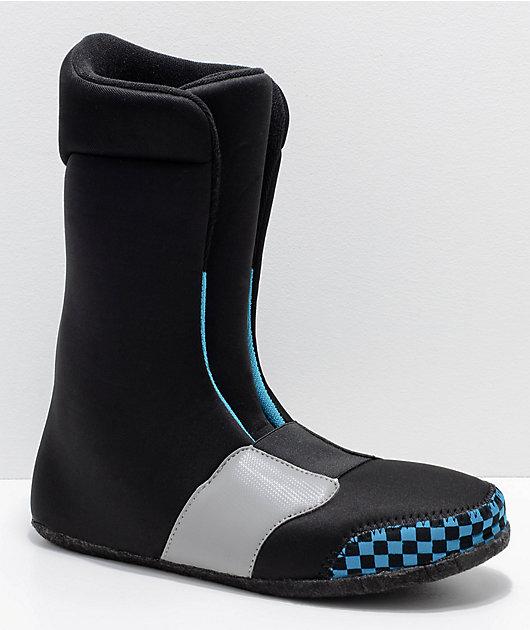 Vans Womens Brystal Black Boa Snowboard Boots