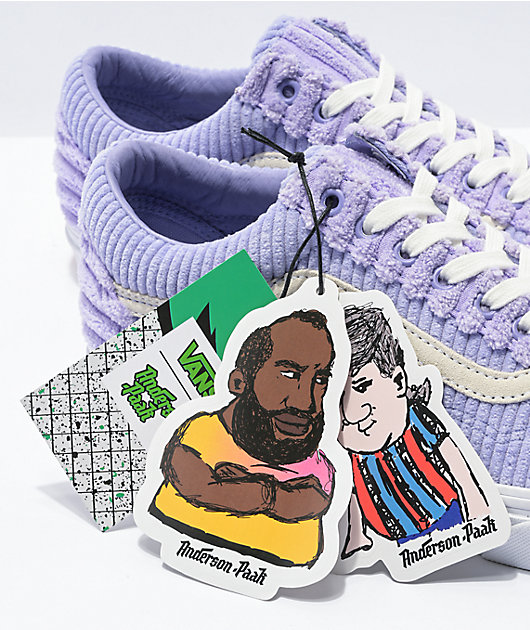 Vans x Anderson .Paak Old Skool Solito Purple Skate Shoes