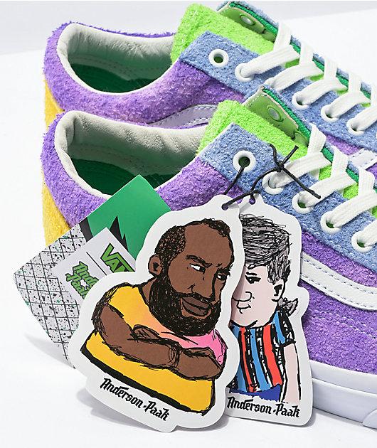 Vans x Anderson .Paak Old Skool Ziti Skate Shoes