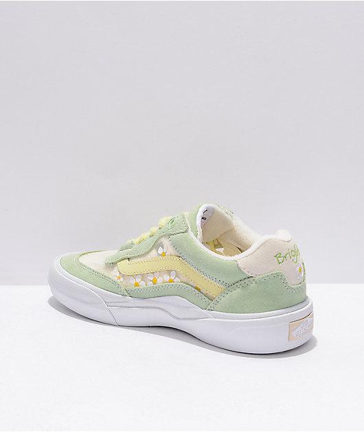 Vans x Brighton Zeuner Wayvee Pastel Green Skate Shoes