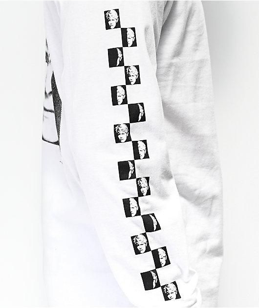 Vans x David Bowie Serious White Long Sleeve T-Shirt