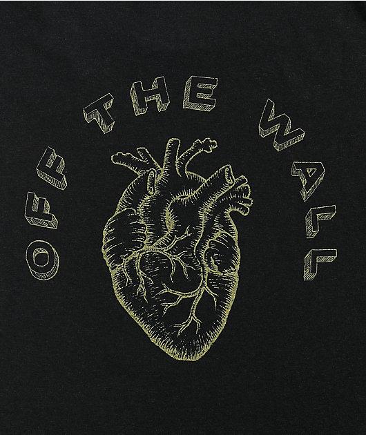 Vans x Lizzie Heart Black T-Shirt