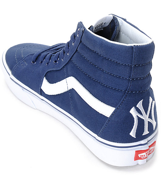 Vans x MLB Sk8-Hi Yankees Navy Skate