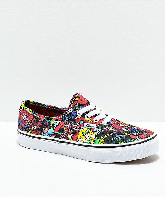 Vans x Marvel Authentic Marvel Women Multi Skate Shoes