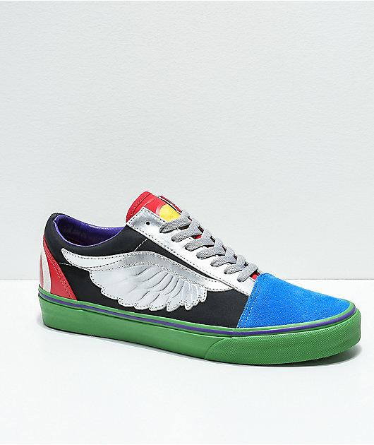 Vans x Marvel Old Skool Avengers zapatos de skate