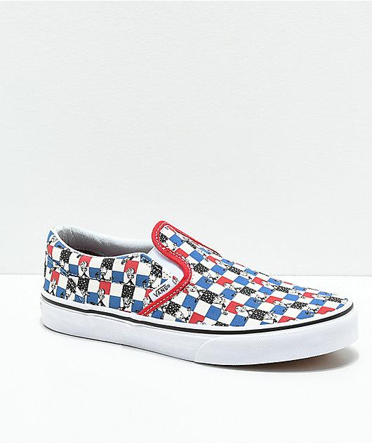 Vans x Marvel Slip-On Groot Skate Shoes