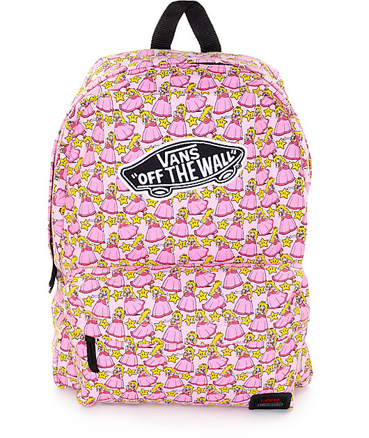 Vans x Nintendo Princess Peach Backpack