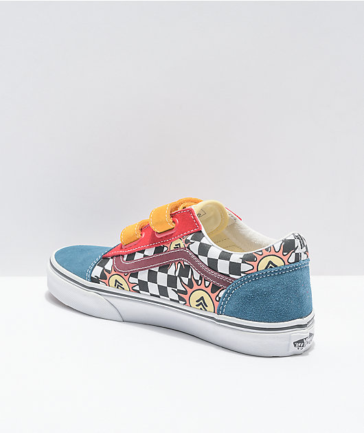 Vans x Parks Project Old Skool V Multi & White Skate Shoes
