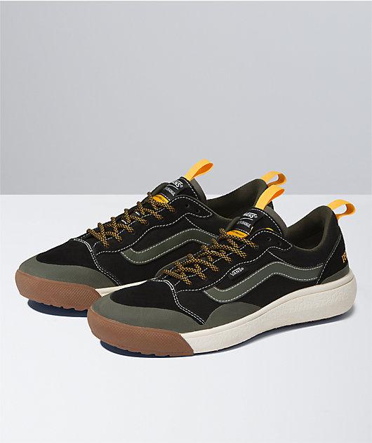 Vans x Parks Project UltraRange EXO SE Black & Olive Shoes