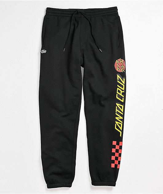 Vans x Santa Cruz Translate Black Jogger Sweatpants