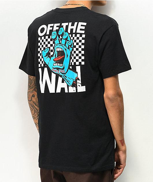 Vans x Santa Cruz Wall Grab Black T-Shirt
