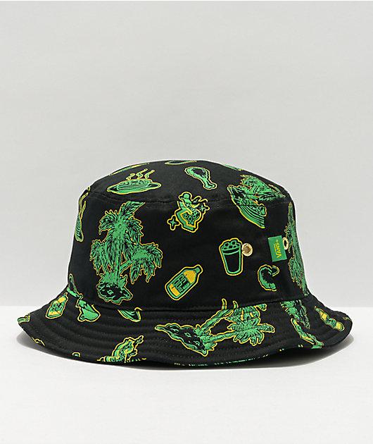 Vans x Shake Junt Green & Black Bucket Hat