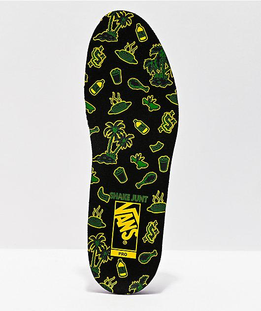 Vans x Shake Junt Kyle Walker Pro 2 Forest Green Skate Shoes