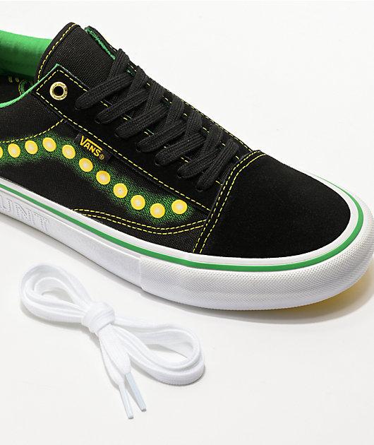 Vans x Shake Junt Old Skool Pro Black Skate Shoes