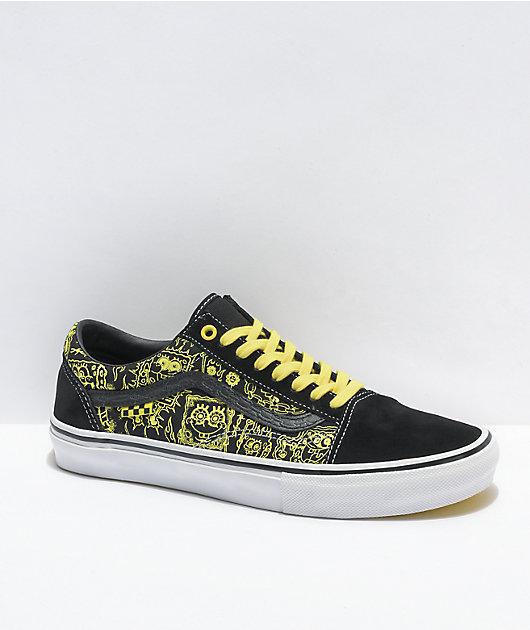 Vans x SpongeBob SquarePants Skate Old Skool Gigliotti zapatos de skate