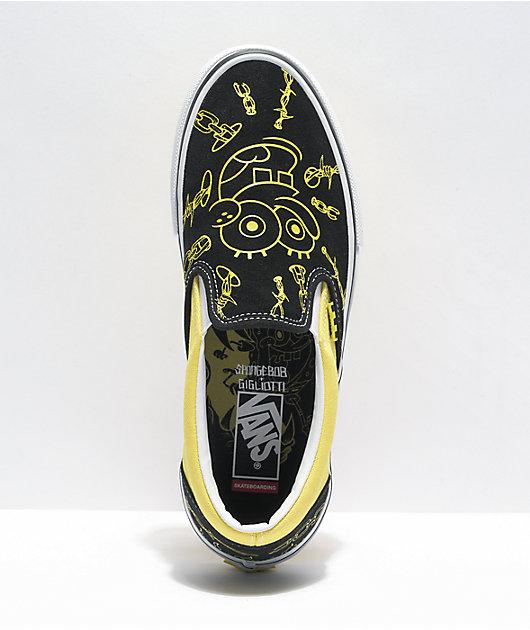Vans x SpongeBob SquarePants Skate Slip-On Gigliotti Skate Shoes
