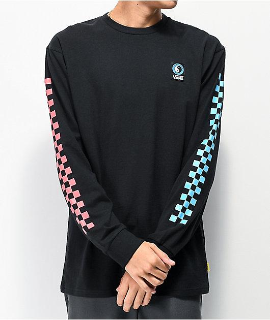 Vans x T&C Surf Designs Boxed camiseta negra de manga larga