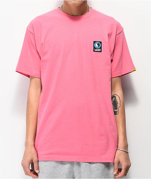 Vans x T & C Checkerboard camiseta magenta