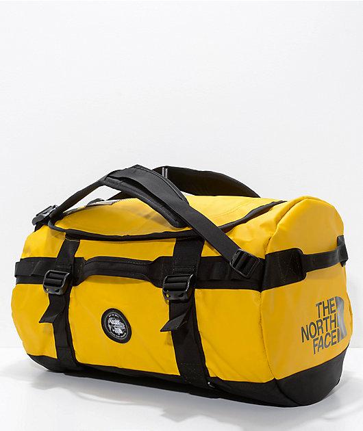 Vans x The North Face Base Camp Yellow 50L Duffel Bag